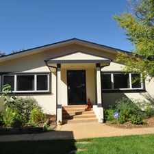 Rental info for Scacious Ranch in Fantastic Berkeley Location