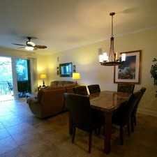 Rental info for Chic condominium, makes you feel on vacation.