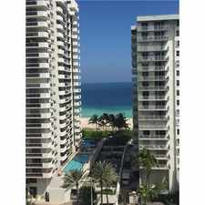 Rental info for 5700 Collins Avenue #12B