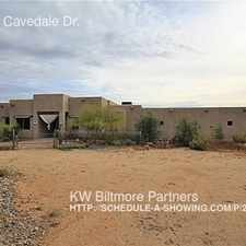 Rental info for 13624 E Cavedale Dr.