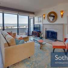 Rental info for 101 Lombard Street #901w in the Telegraph Hill area