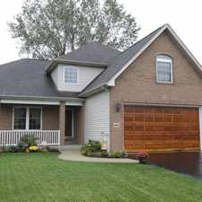 Rental info for STUNNING 4 BEDROOM CUSTOM BUILT 2 STORY HOME IN PRISTINE CONDITION