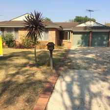 Rental info for Lovely Family Home in the Mount Annan area