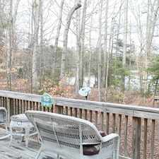Rental info for Beautiful Waterfront Home in Lake Land Or. Single Car Garage!