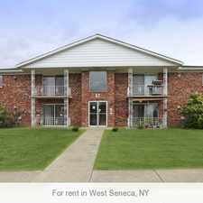 Rental info for Conveniently located off Center close to Union. in the West Seneca area
