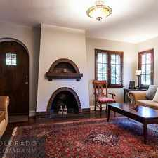 Rental info for 4824 East 18th Avenue in the Denver area