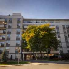 Rental info for Chaplin Crescent Apartments in the Forest Hill South area