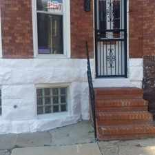 Rental info for Recently Renovated Three Level Rowhouse in the Penn North area