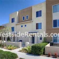 Rental info for 2 bedroom townhouse in the El Segundo area