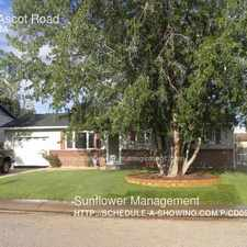 Rental info for 1751 Ascot Road