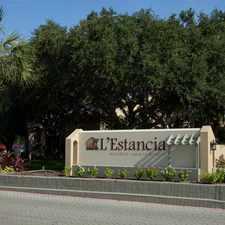 Rental info for L'Estancia