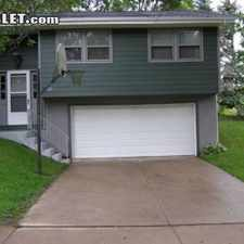 Rental info for Three Bedroom In Dubuque