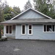 Rental info for 8520 West Saanich Rd.. Cute 3BD House on acreage.