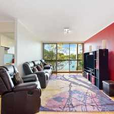 Rental info for MAGNIFICENT WATERSIDE LIVING (DEPOSIT TAKEN) in the Hunters Hill area