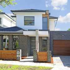 Rental info for QUALITY BUILT TOWNHOUSE! in the Melbourne area