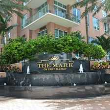 Rental info for 1155 Brickell Bay Drive #1503