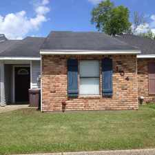 Rental info for Thibodaux - Townhouse with 2 Bedroom / 2 Baths 2 parking spots Includes Dishwasher, Refrigerator.