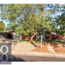 Rental info for 2774 South Winona Court in the Denver area