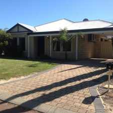 Rental info for OPEN TO VIEW TUE 3 MAY 4.00PM in the Beeliar area