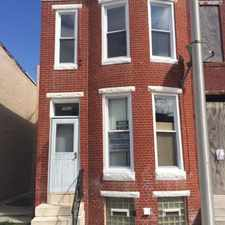 Rental info for Beautiful Updated Home Near Downtown and John Hopkins in the Baltimore area