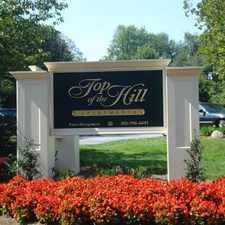 Rental info for Top of the Hill Apartments