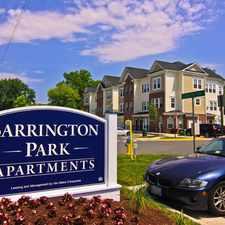 Rental info for Barrington Park Apartments