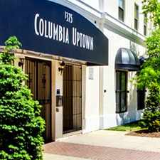 Rental info for Columbia Uptown Apartments in the Columbia Heights area