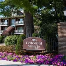 Rental info for Colonial Village