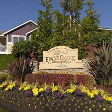 Rental info for Evans Creek