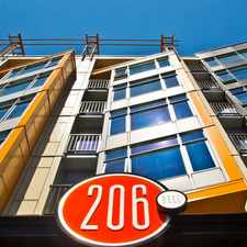 Rental info for 206 Bell Apartments in the Downtown area