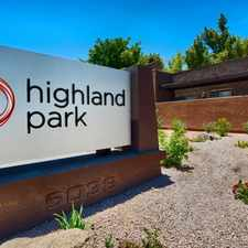 Rental info for Highland Park