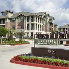 Rental info for Platinum Lakeline in the Cedar Park area