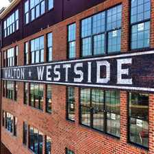 Rental info for Walton Westside
