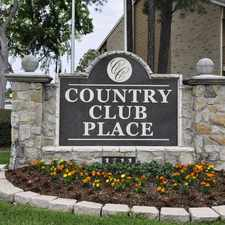 Rental info for Country Club Place in the Rosenberg area