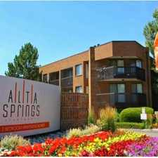 Rental info for Alta Springs