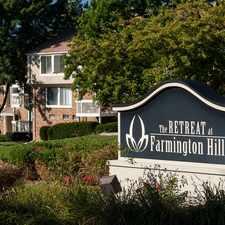 Rental info for Retreat at Farmington Hills