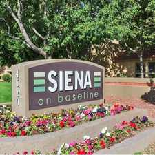 Rental info for Siena Apartments
