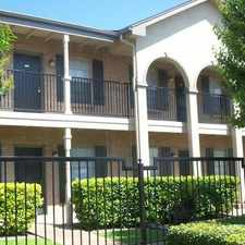 Rental info for Veranda in the Corpus Christi area
