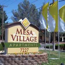 Rental info for Mesa Village Apartments
