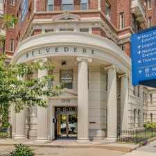 Rental info for Belvedere in the Downtown-Penn Quarter-Chinatown area
