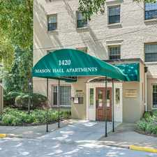 Rental info for Mason Hall in the Alexandria area