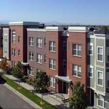 Rental info for Bradburn Row