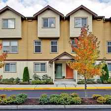 Rental info for Northshore Townhomes in the Kenmore area