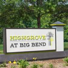 Rental info for Highgrove At Big Bend in the Manchester area