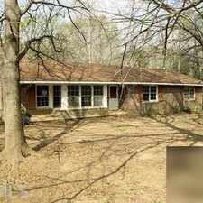 Rental info for Charming, move-in ready, all brick home on 1+ acre corner lot. Washer/Dryer Hookups!