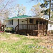 Rental info for Lake frontage