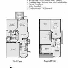 Rental info for Spacious Three bedroom town home with First floor Master with Vaulted Ceiling attached oversized 2 g