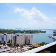 Rental info for 401 69 ST, #1104 401 69 ST, #1104 Miami Beach, FL 33141-3196 #1104