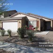 Rental info for 4465 S. Lariat Ct