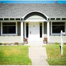 Rental info for OLD TORRANCE GORGEOUS, CHARMING CRAFTSMAN!! in the Olde Torrance area